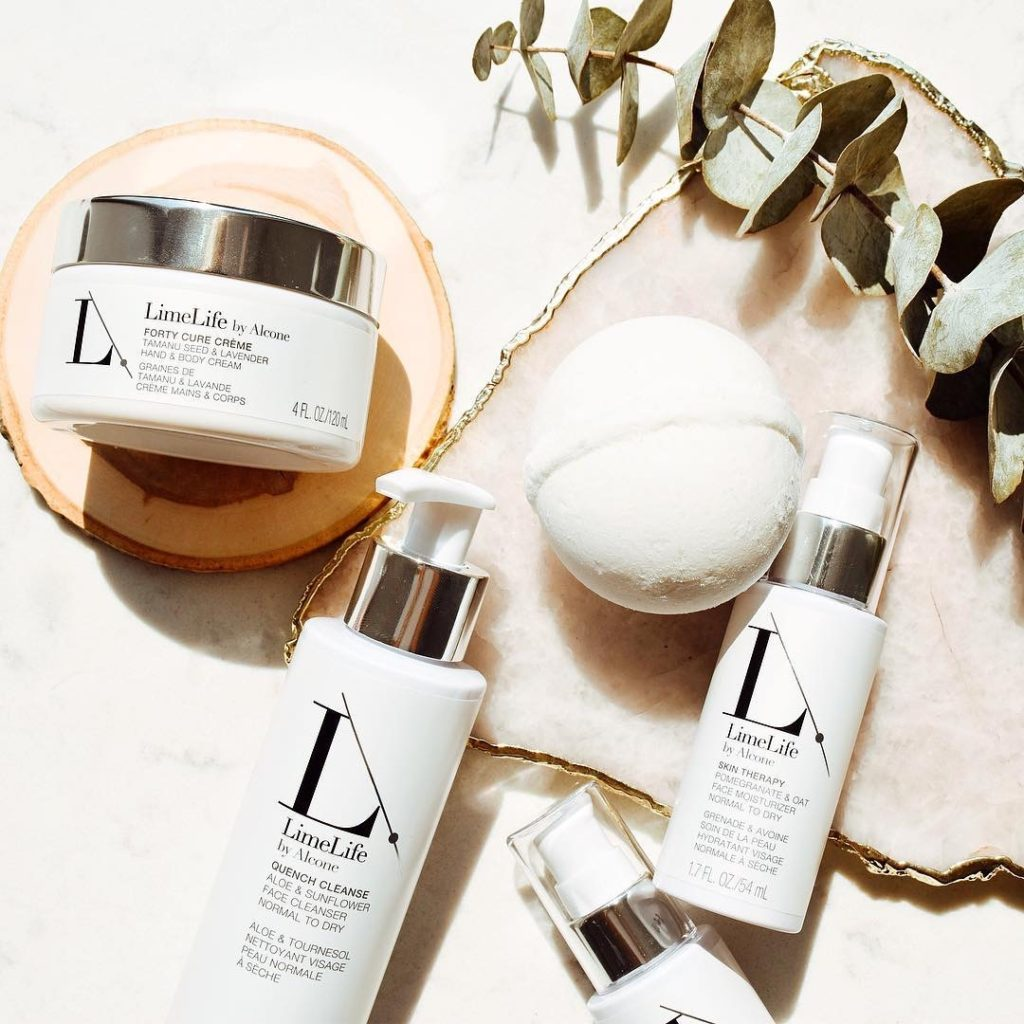LimeLife by Alcone skincare products